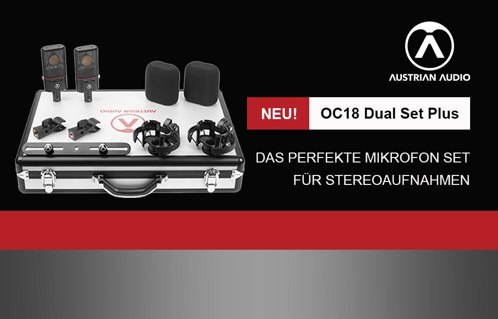 NEU: Austrian Audio OC18 Dual Set Plus
