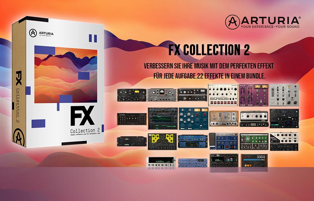 Arturia stellt die FX Collection 2 vor