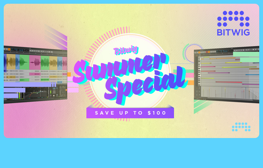 The Bitwig Summer Special 2021