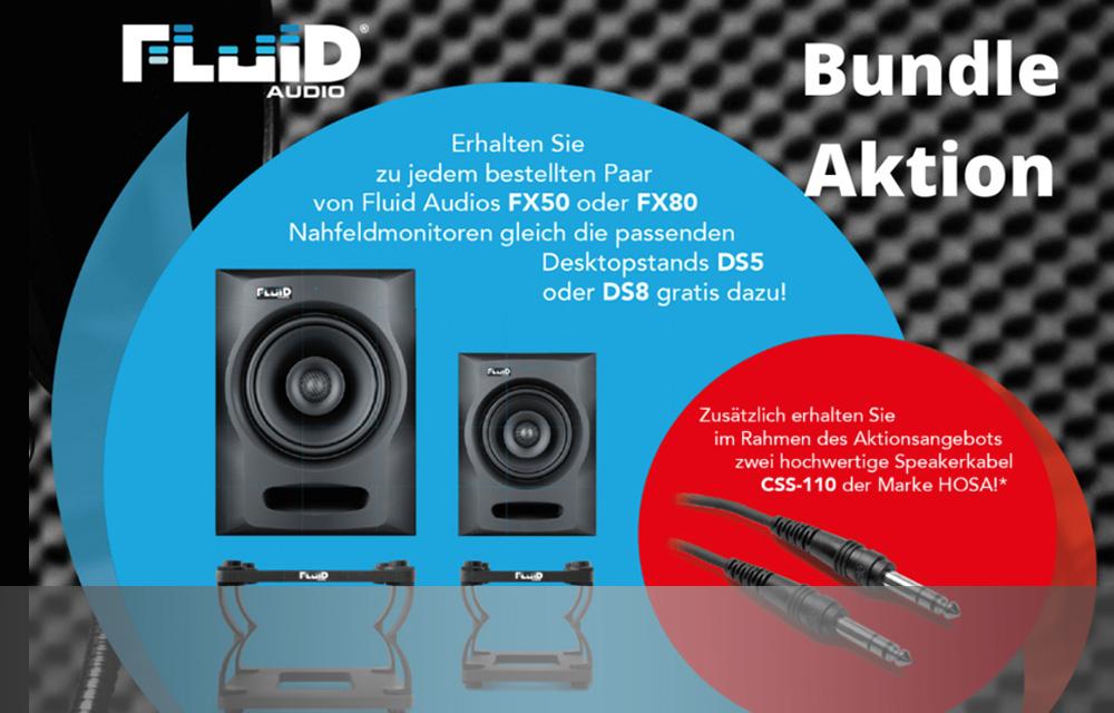 Fluid Audio FX-Serie Bundle Aktion