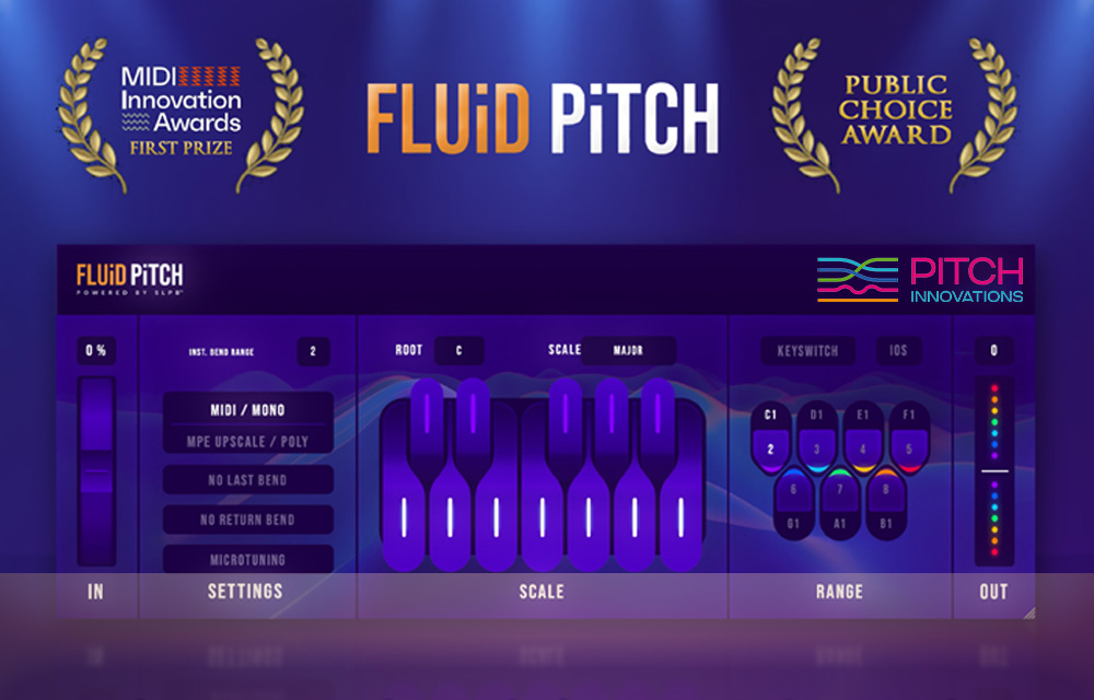 Pitch Fluid – Innovatives Pitchbend Plug-in