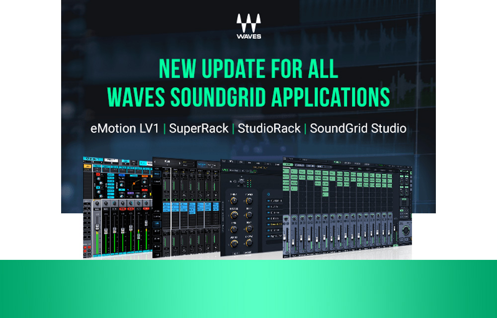 Waves Soundgrid Updates verfügbar!
