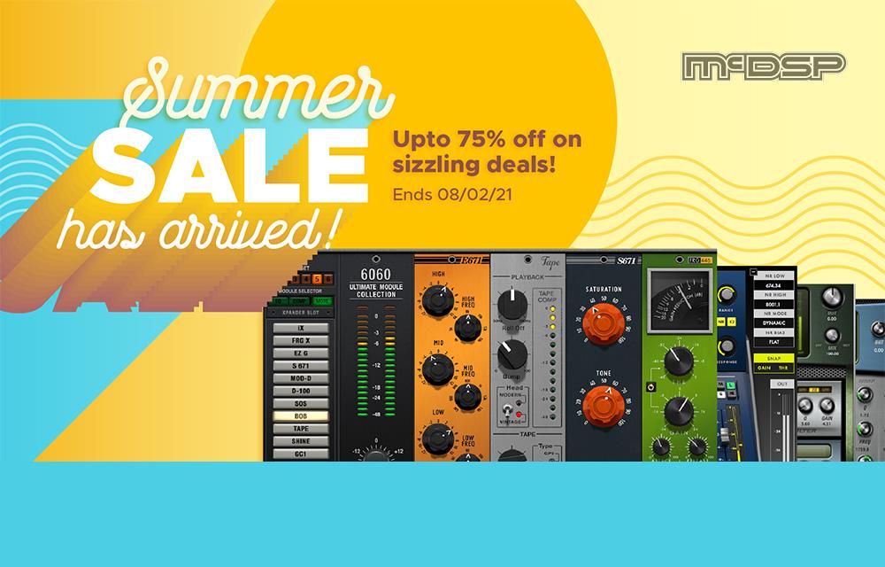 mcdsp Summer Sale has arrived